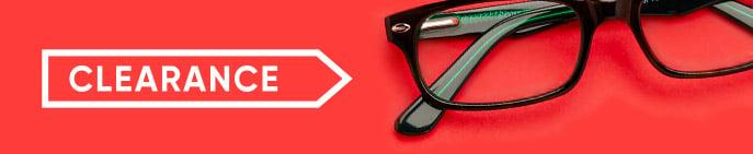 clearance eyeglasses