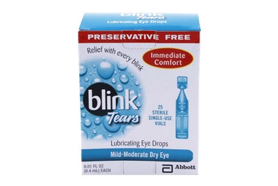 AMO Blink Tears Single-Use Vials for Dry Eyes (25 ct.)