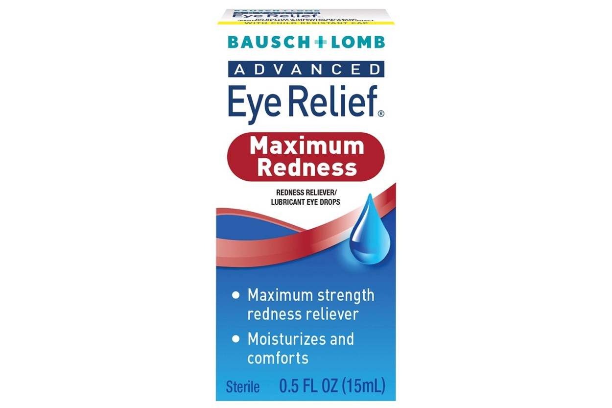 Bausch and Lomb Advanced Eye Relief Redness Maximum Relief  Eye Drops (.5 fl oz) DryRedEyeTreatments