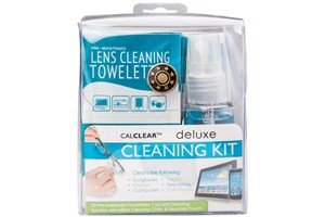 Click to swap image to CalOptix Deluxe Eyeglasses and Sunglasses Cleaning Kit