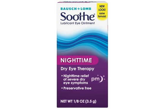 Bausch and Lomb Soothe Night Time Lubricant Eye Ointment (.12 fl. oz.) DryRedEyeTreatments
