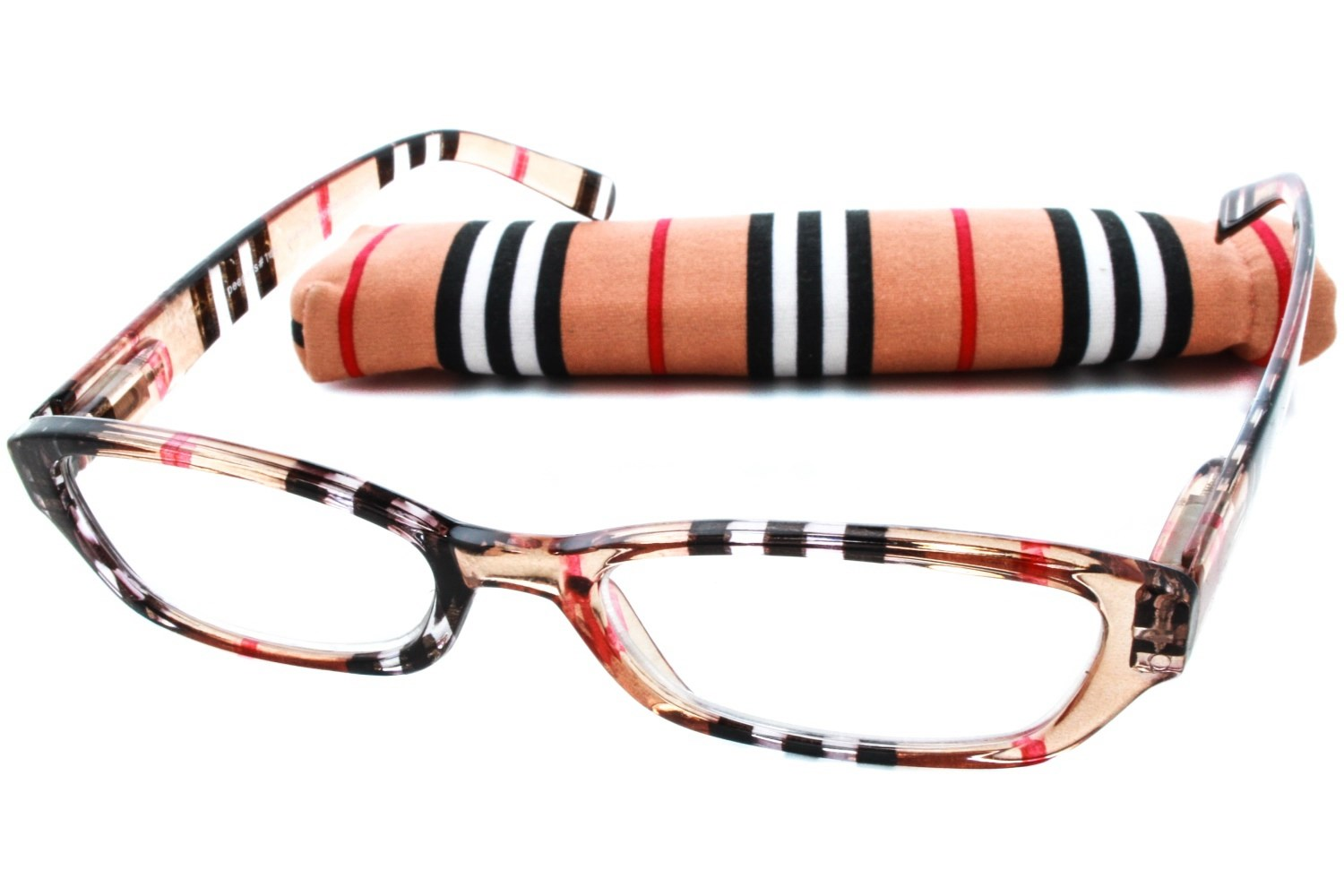 bd1598d8963 Peepers Chesterfield Stripe Designer Reading Glasses - AC19080 by Peepers