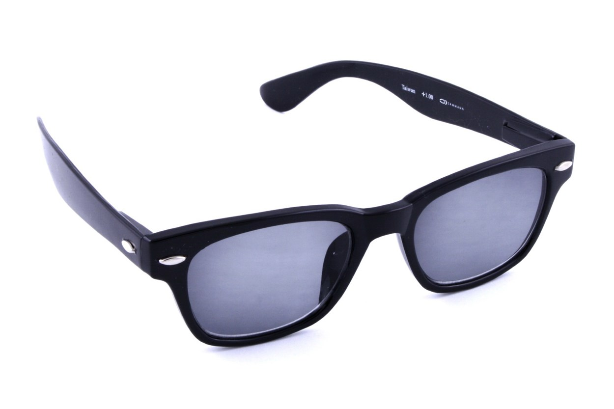 Peepers Clark Kent Solar Reading Sunglasses ReadingGlasses - Black