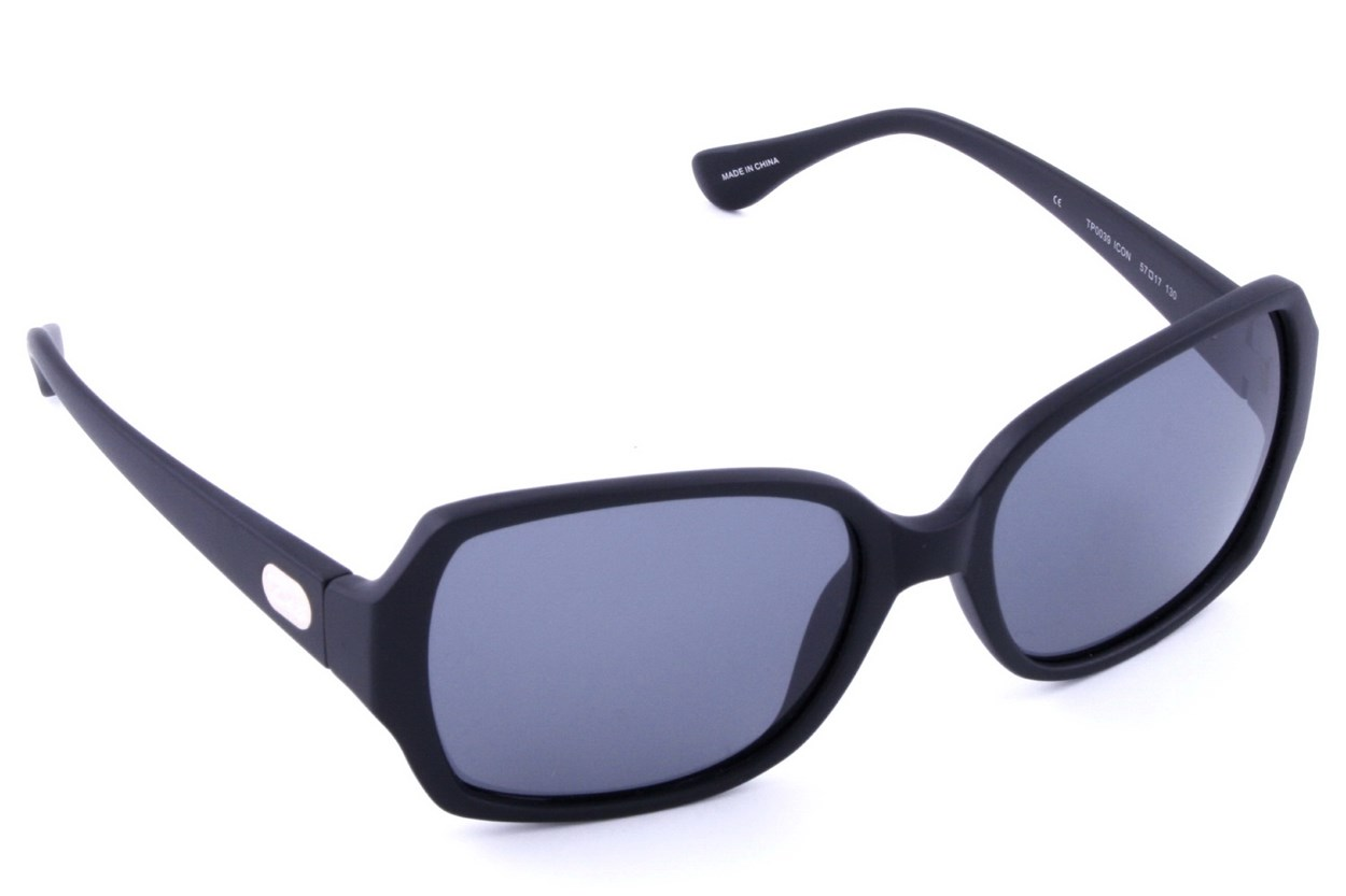 Dea Extended Size Icon 57 Black Sunglasses