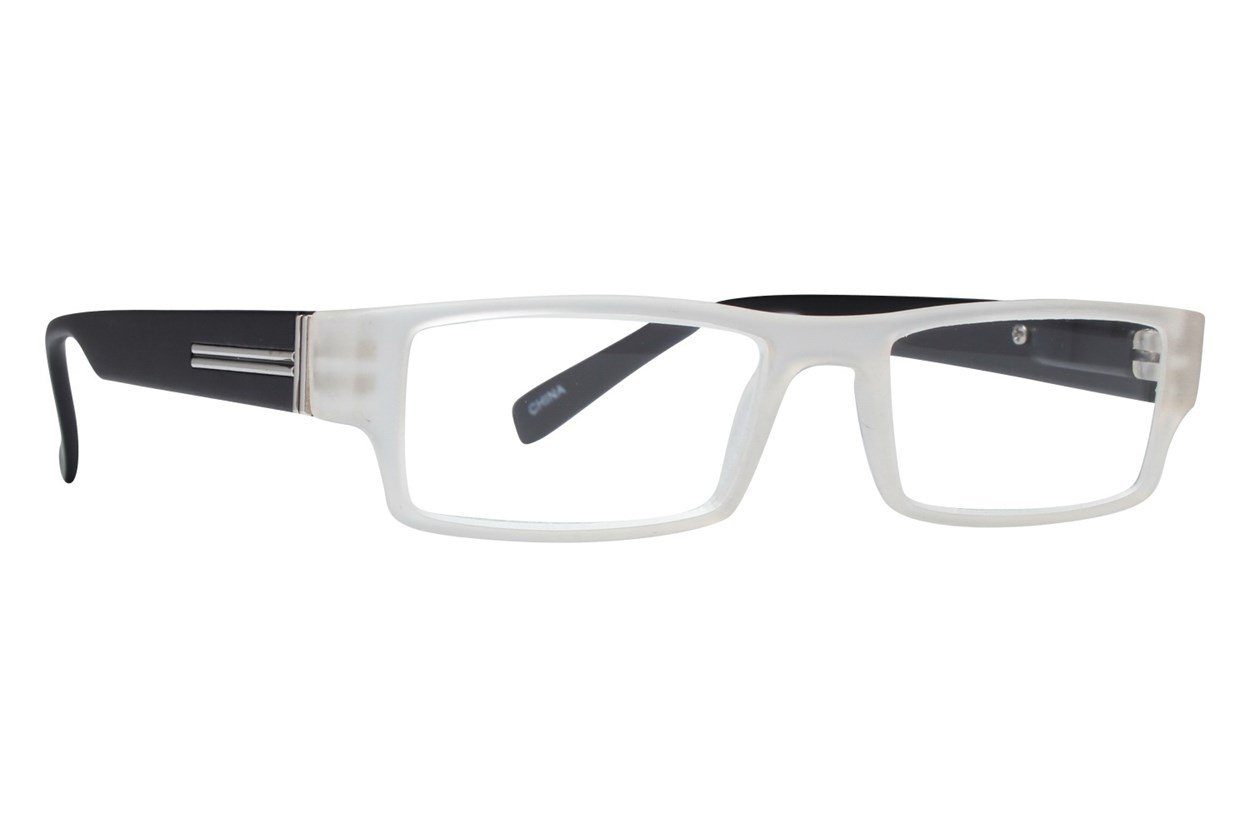 Evolutioneyes CRPH835 Full Rim Classic Readers Clear
