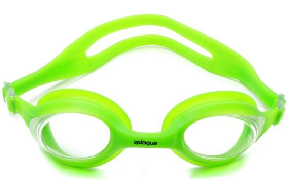 Splaqua Clear Prescription Swimming Goggles Green SwimmingGoggles