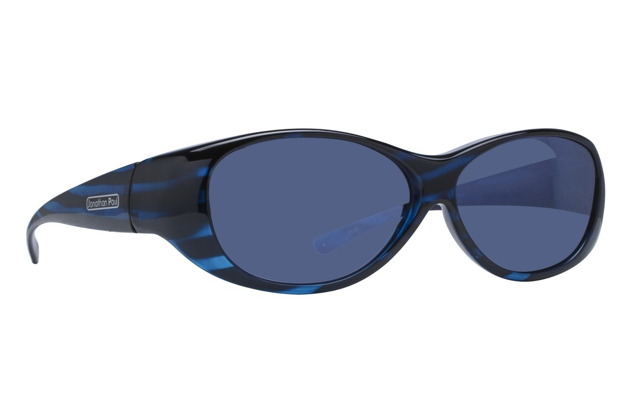 Fitovers Eyewear Kiata - Over Prescription Sunglasses Blue Sunglasses