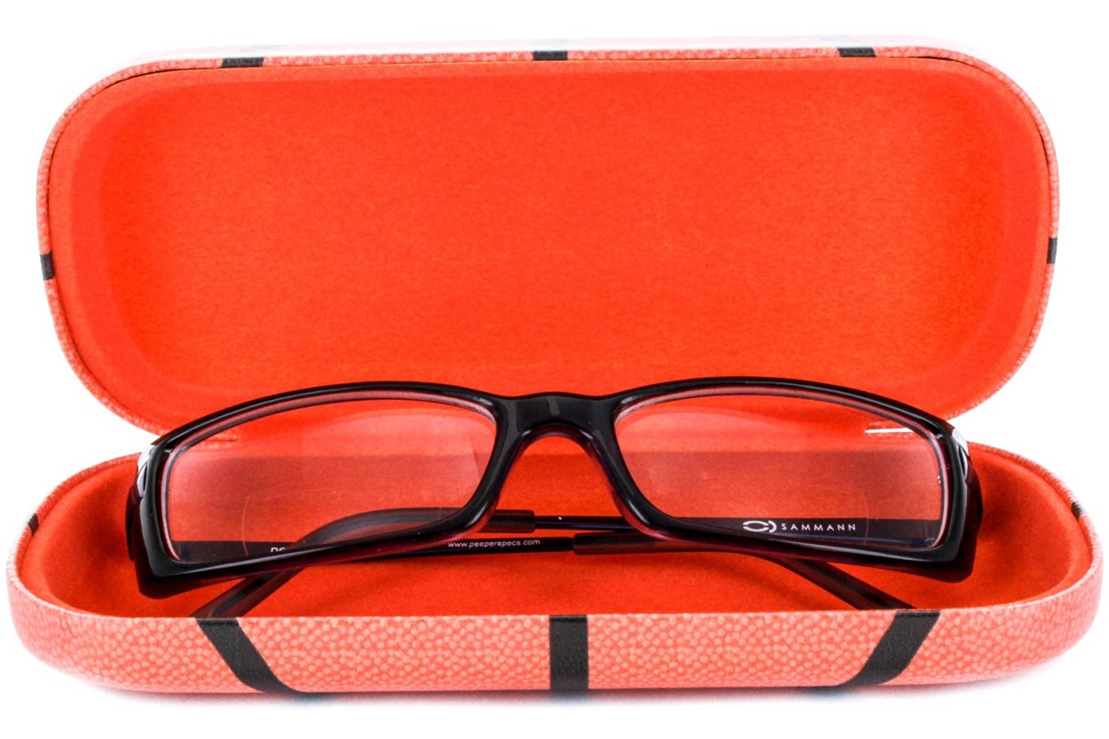 Alternate Image 1 - CalOptix Children's Sports Eyeglass Case 50 - Orange