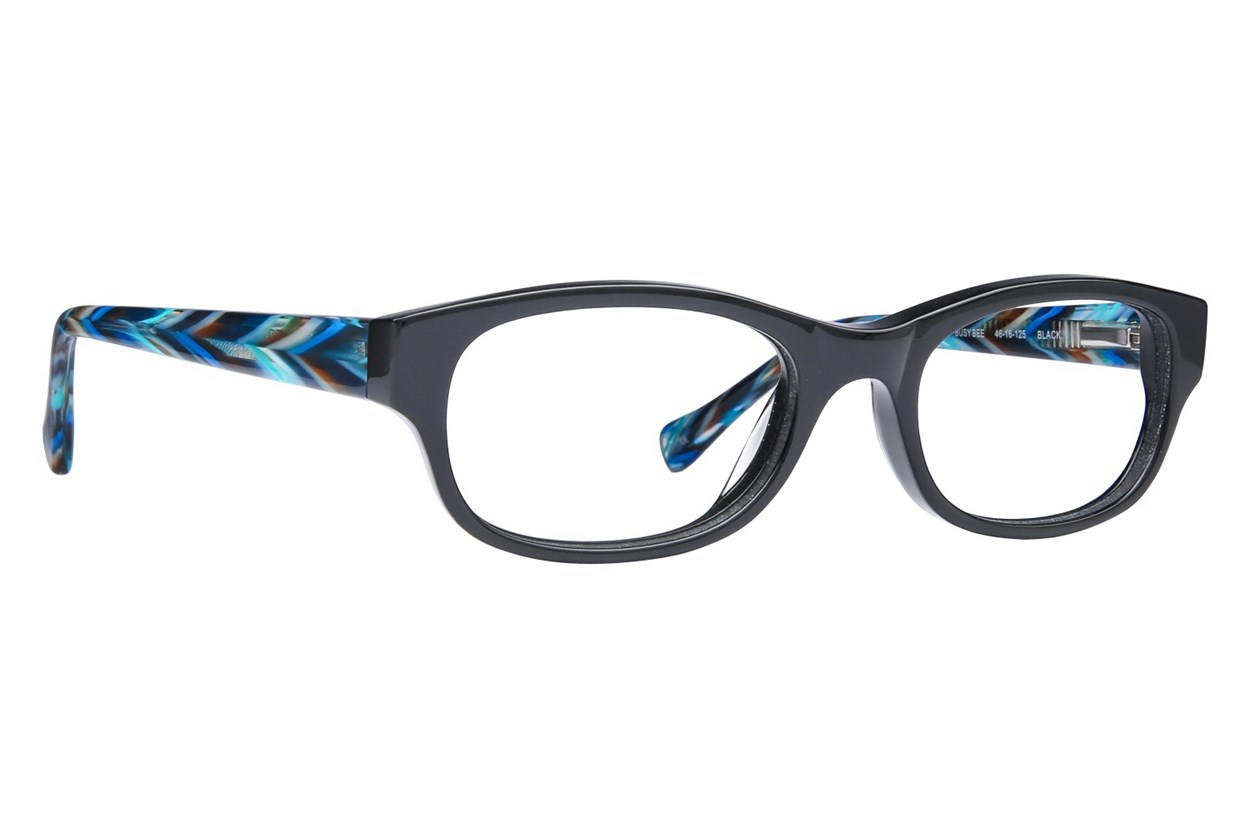 Lucky Busy Bee Black Glasses