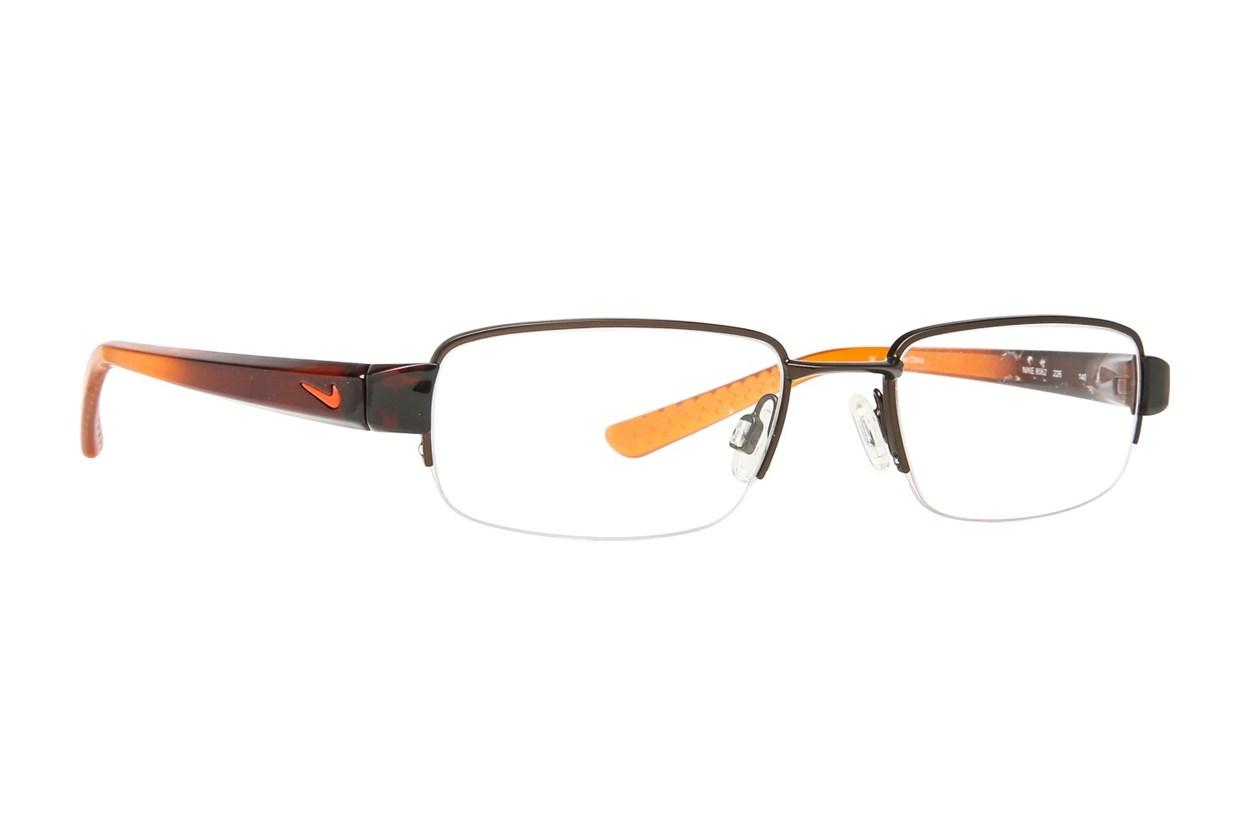 NIKE 8062 Brown Glasses