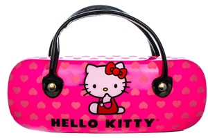 Click to swap image to alternate 1 - Hello Kitty HK218 Eyeglasses - Tortoise