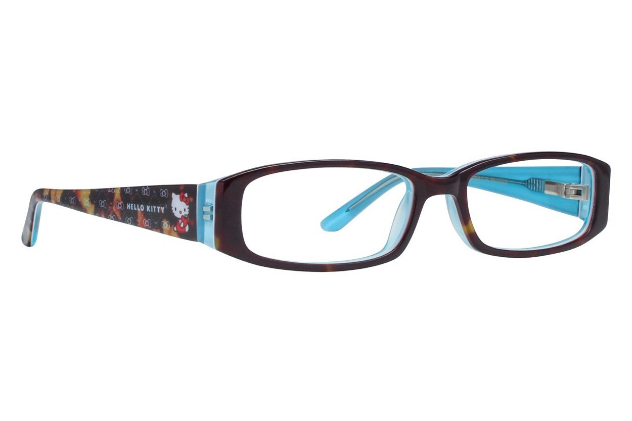 Hello Kitty HK218 Eyeglasses - Tortoise