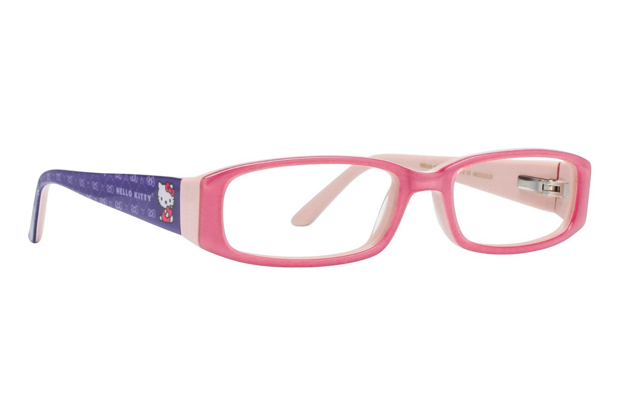 Hello Kitty HK218 Pink Glasses