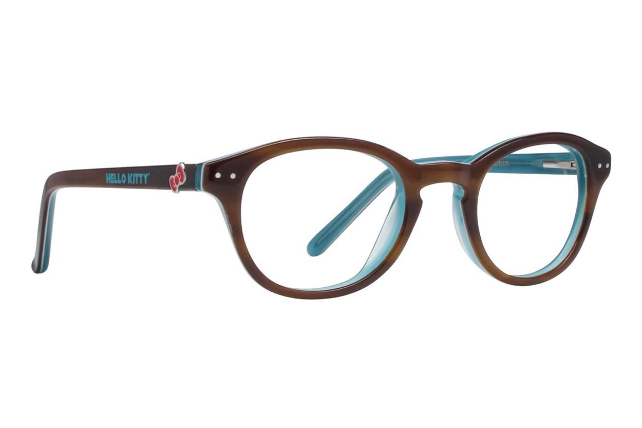 Hello Kitty HK219 Brown Glasses
