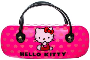 Click to swap image to alternate 1 - Hello Kitty HK226 Eyeglasses - Gold