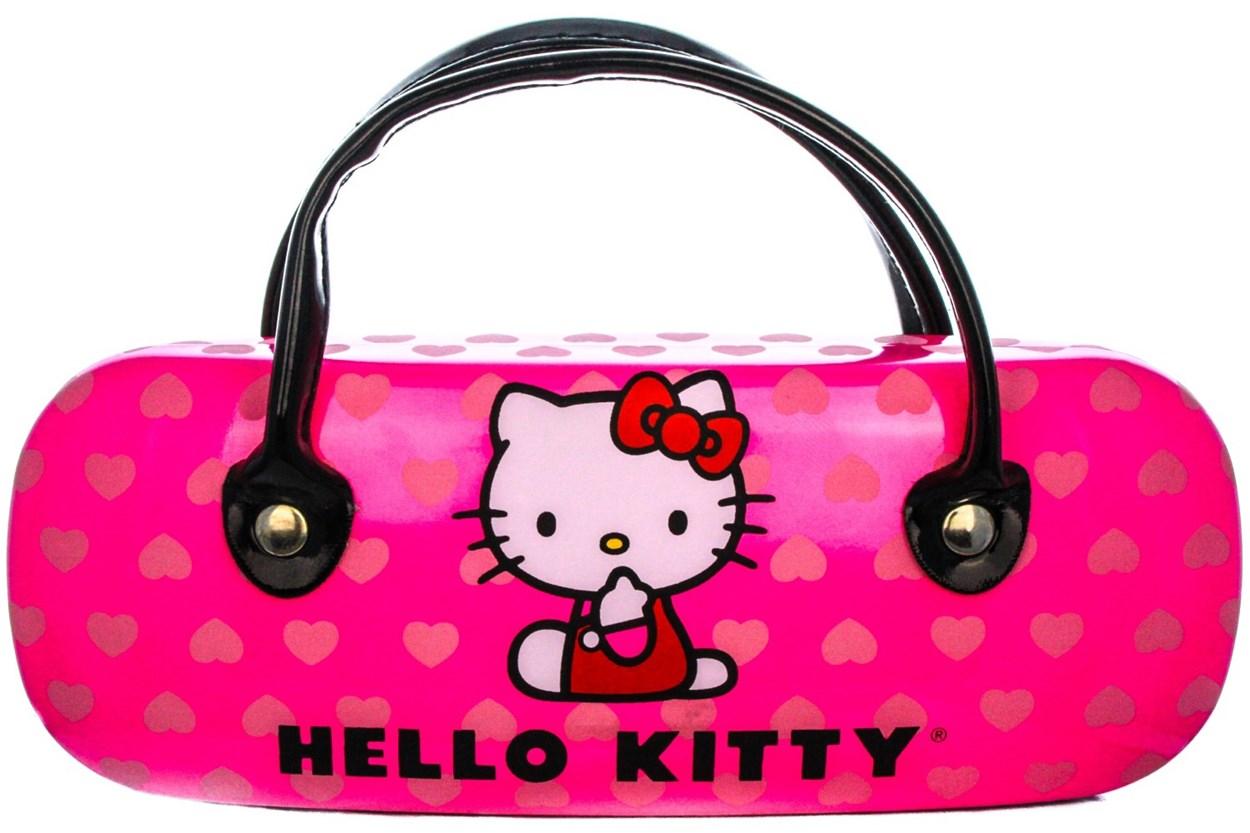 Alternate Image 1 - Hello Kitty HK232 Eyeglasses - Brown