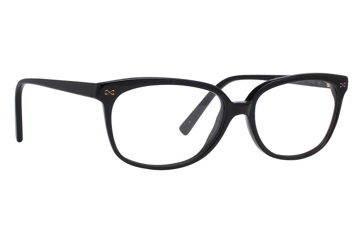Velvet Eyewear Mili Black Glasses