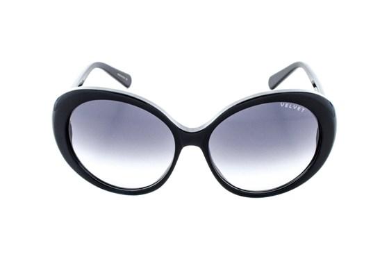 Velvet Eyewear Janis Black Sunglasses