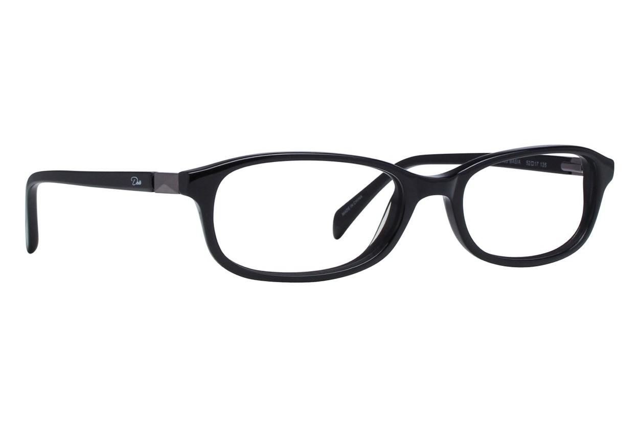 Dea Extended Size Basia Black Glasses