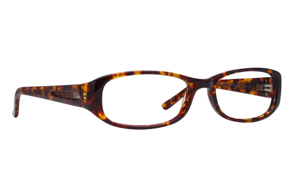 Dea Extended Size Goldie Tortoise Glasses