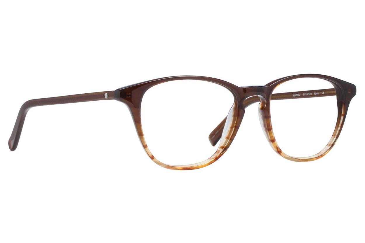 Eco Madrid Brown Glasses