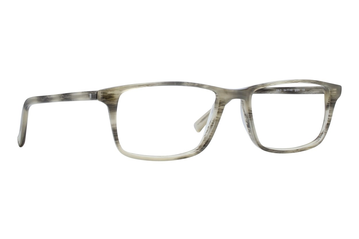 Eco Oslo Gray Glasses
