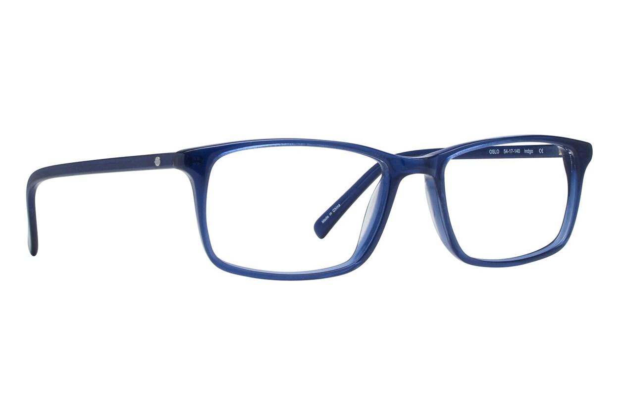 Eco Oslo Purple Glasses
