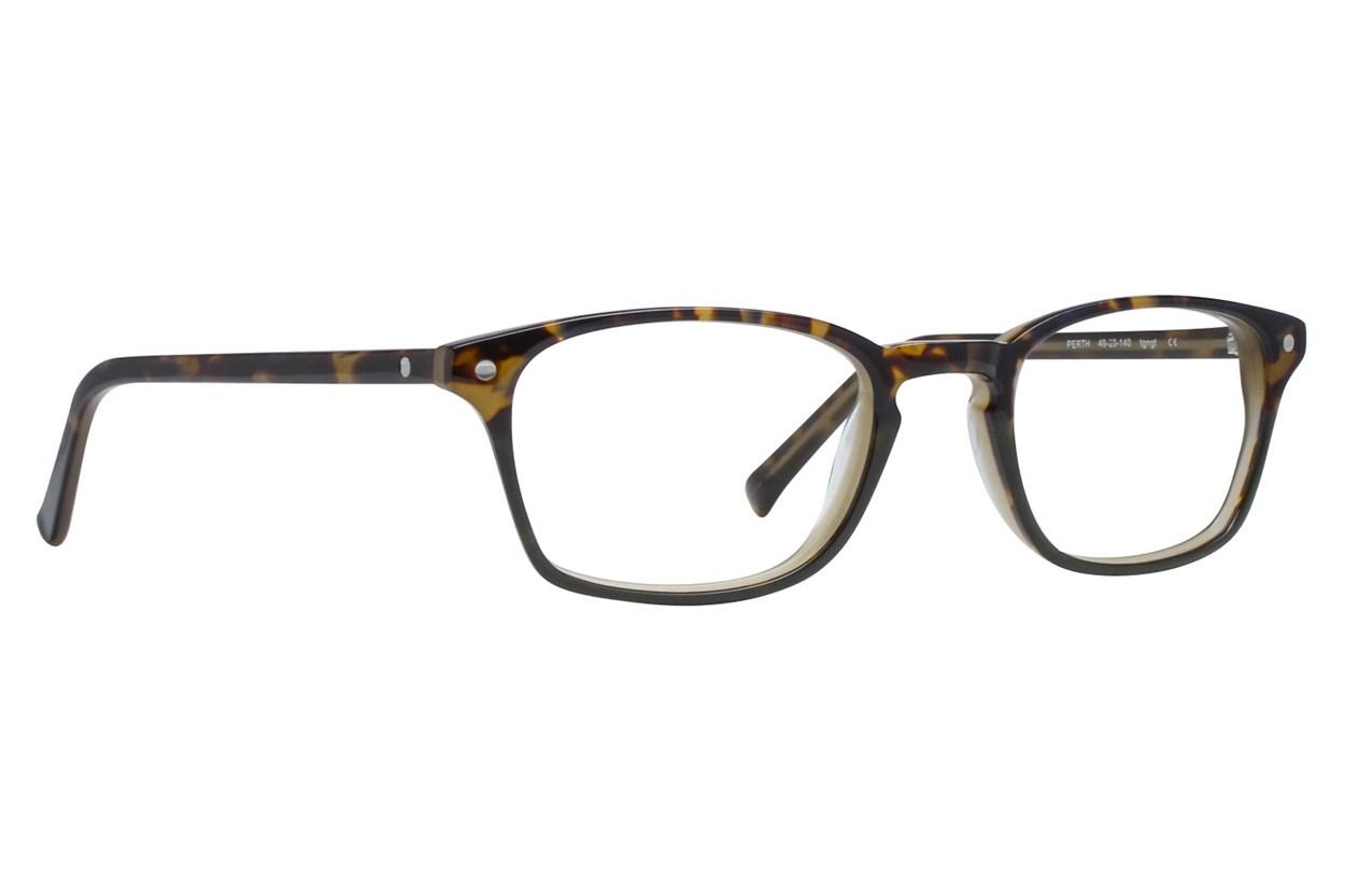 Eco Perth Brown Glasses