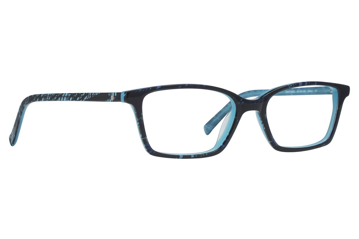 Eco Santiago Black Glasses