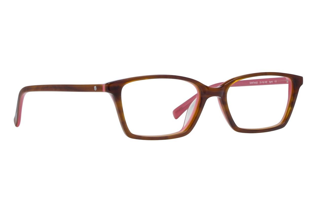 Eco Santiago Pink Glasses
