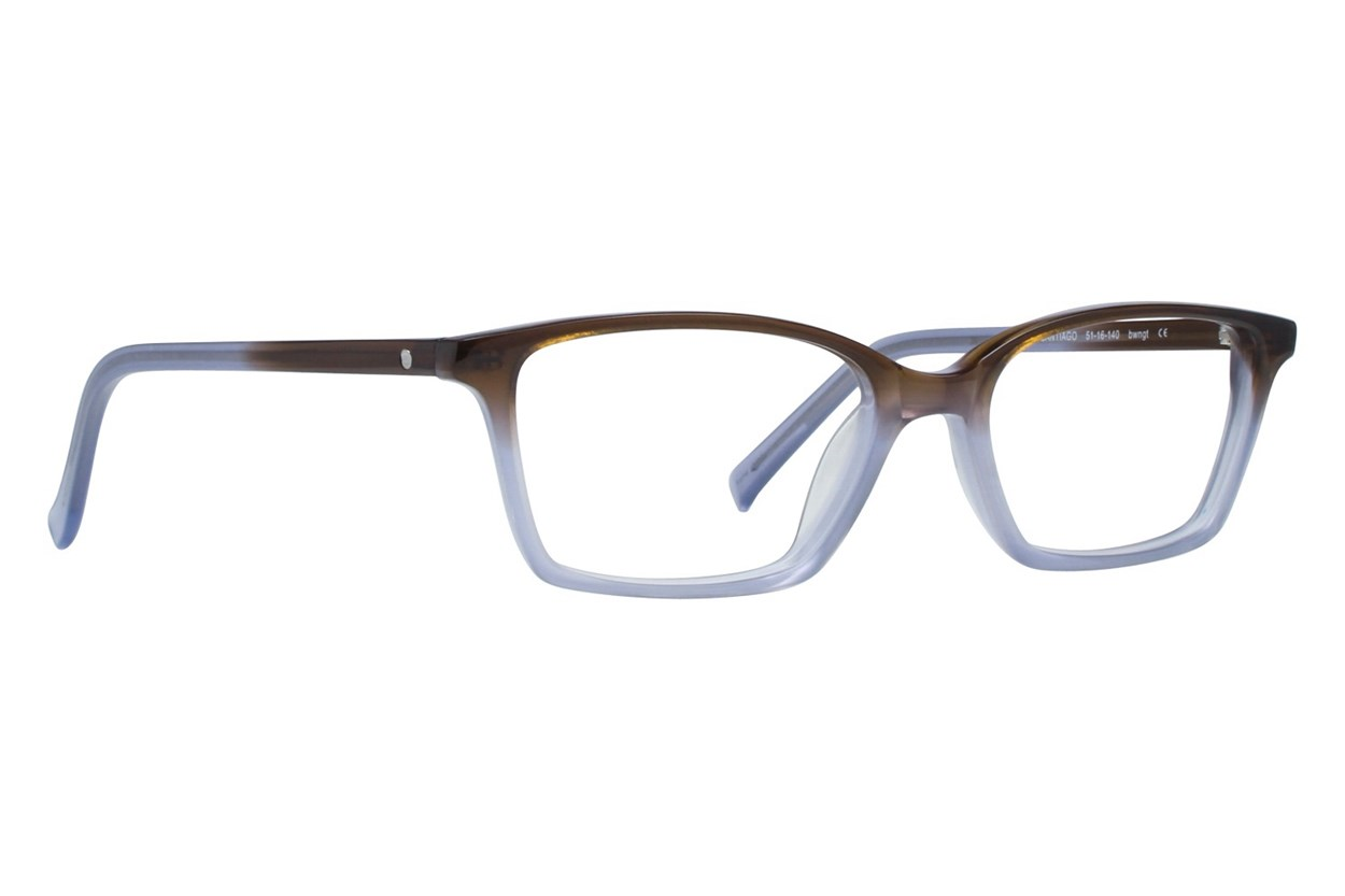 Eco Santiago Brown Glasses