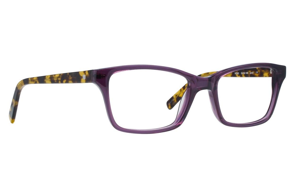 Eco Rome Purple Glasses