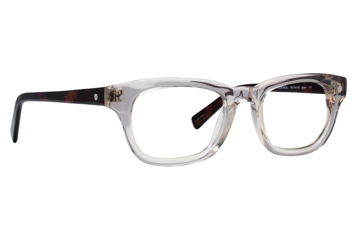 Eco Montreal Gray Glasses