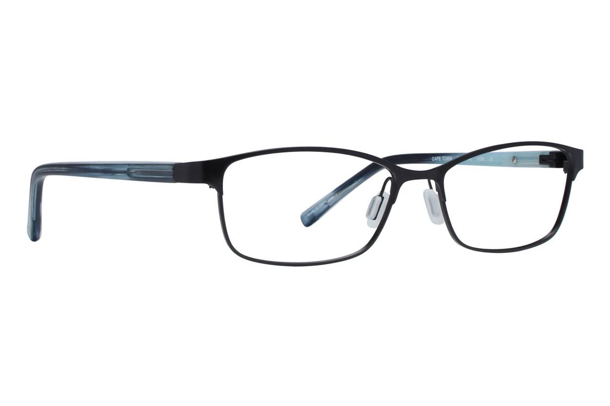 Eco Cape Town Black Glasses