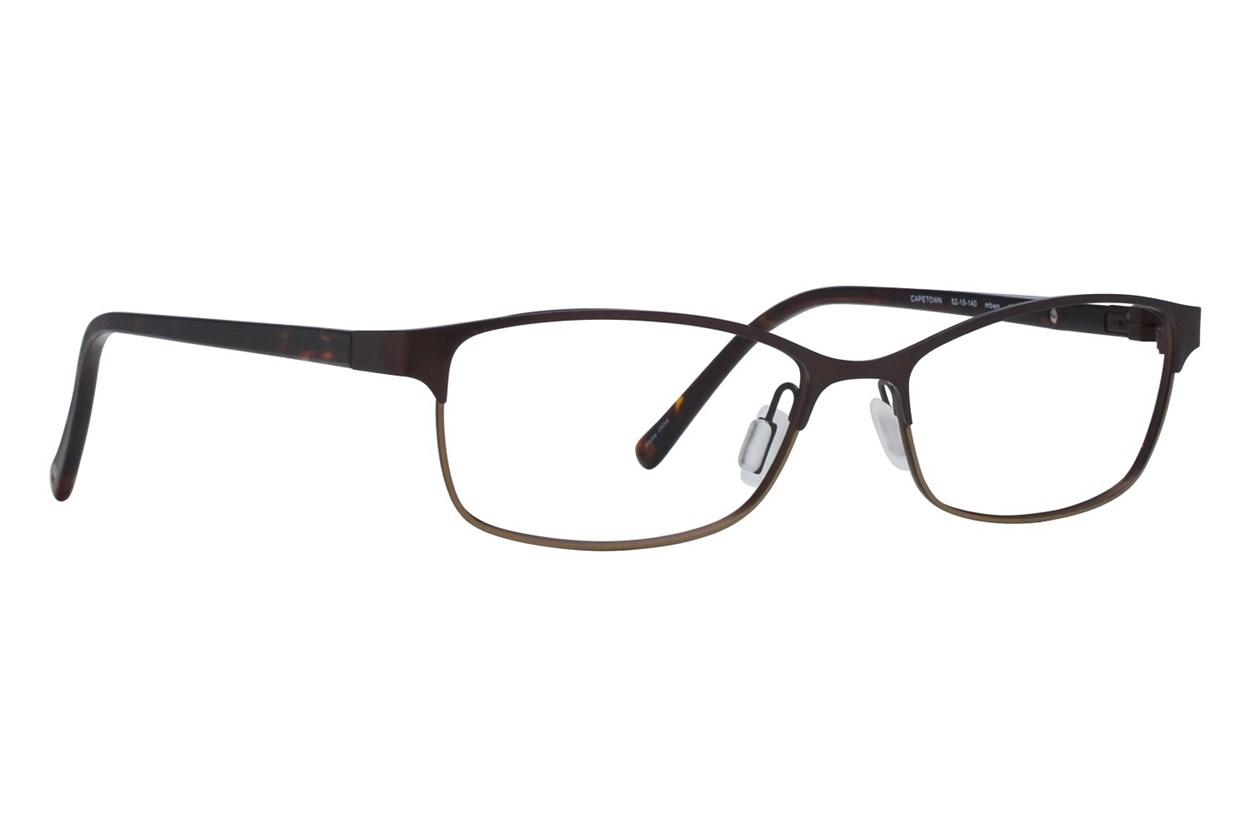 Eco Cape Town Brown Glasses