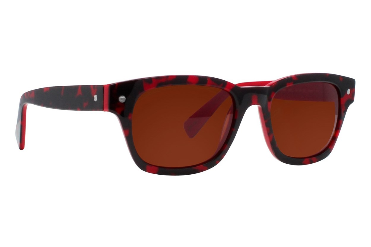 Eco Vail Red Sunglasses