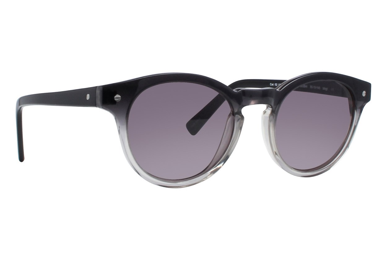 Eco Dubai Black Sunglasses