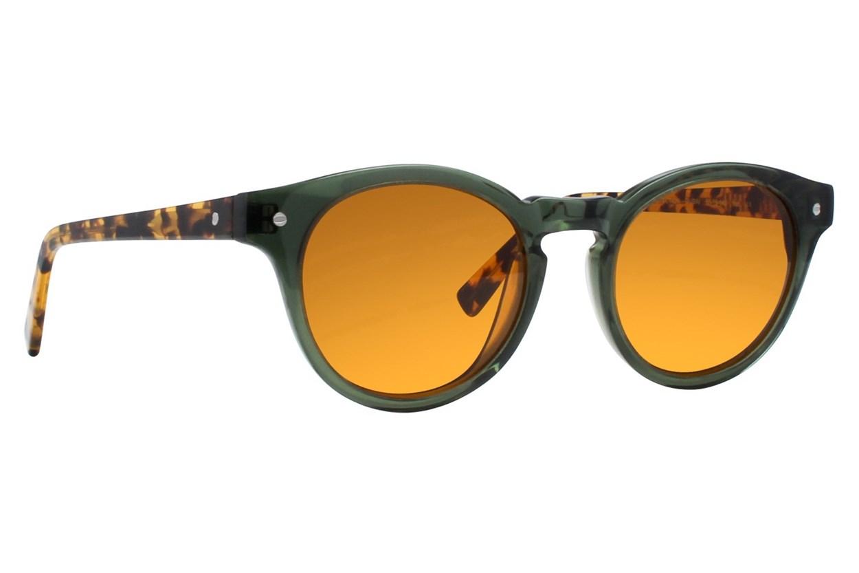 Eco Dubai Green Sunglasses