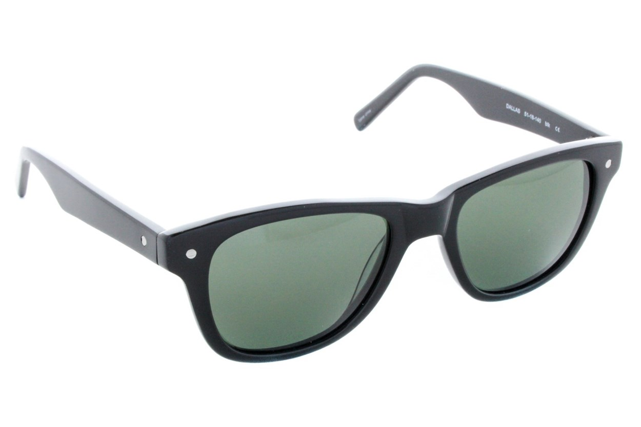 Eco Dallas Black Sunglasses