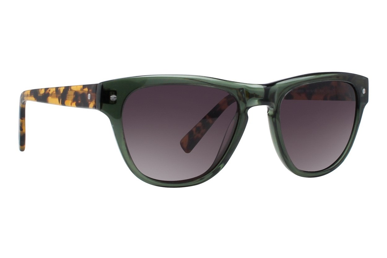 Eco Toronto Green Sunglasses