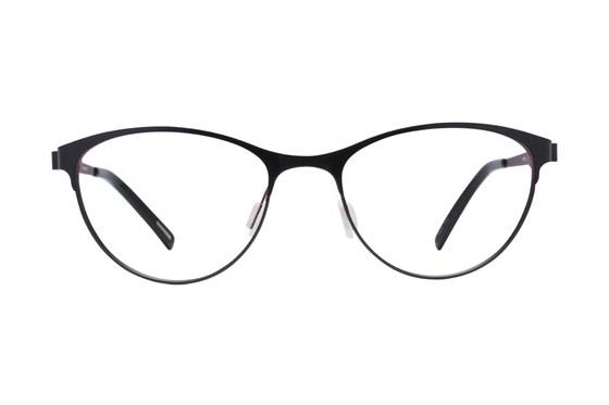Eco Bristol Black Glasses