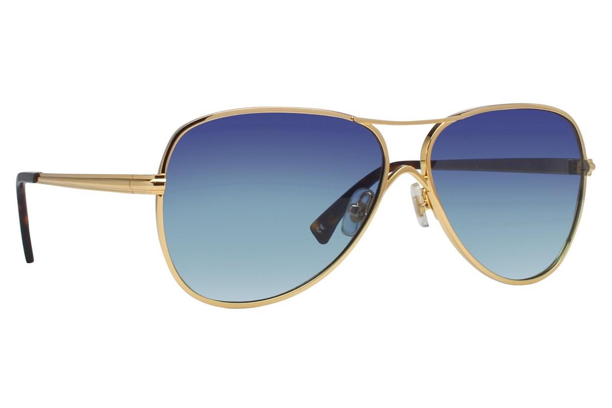 Wildfox Airfox Gold Sunglasses