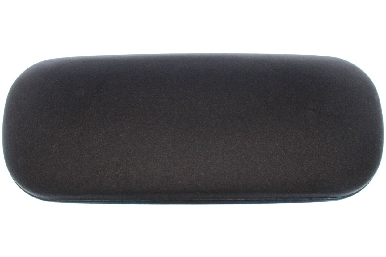 Amcon Protective Clam Eyeglasses Case Black Black 50