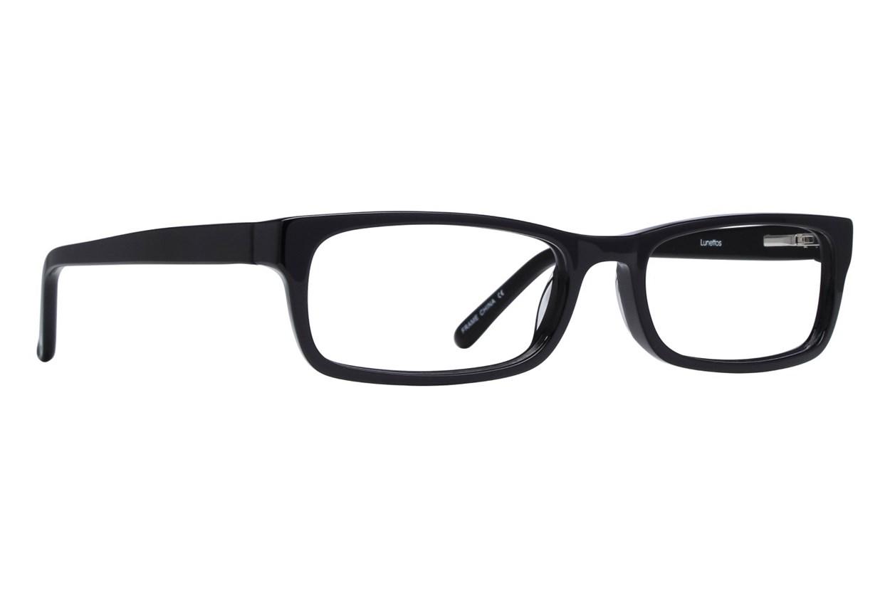 Lunettos Abraham Black Glasses