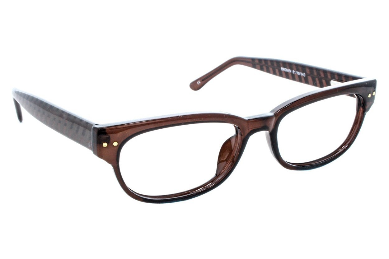Lunettos Lynx Brown Glasses
