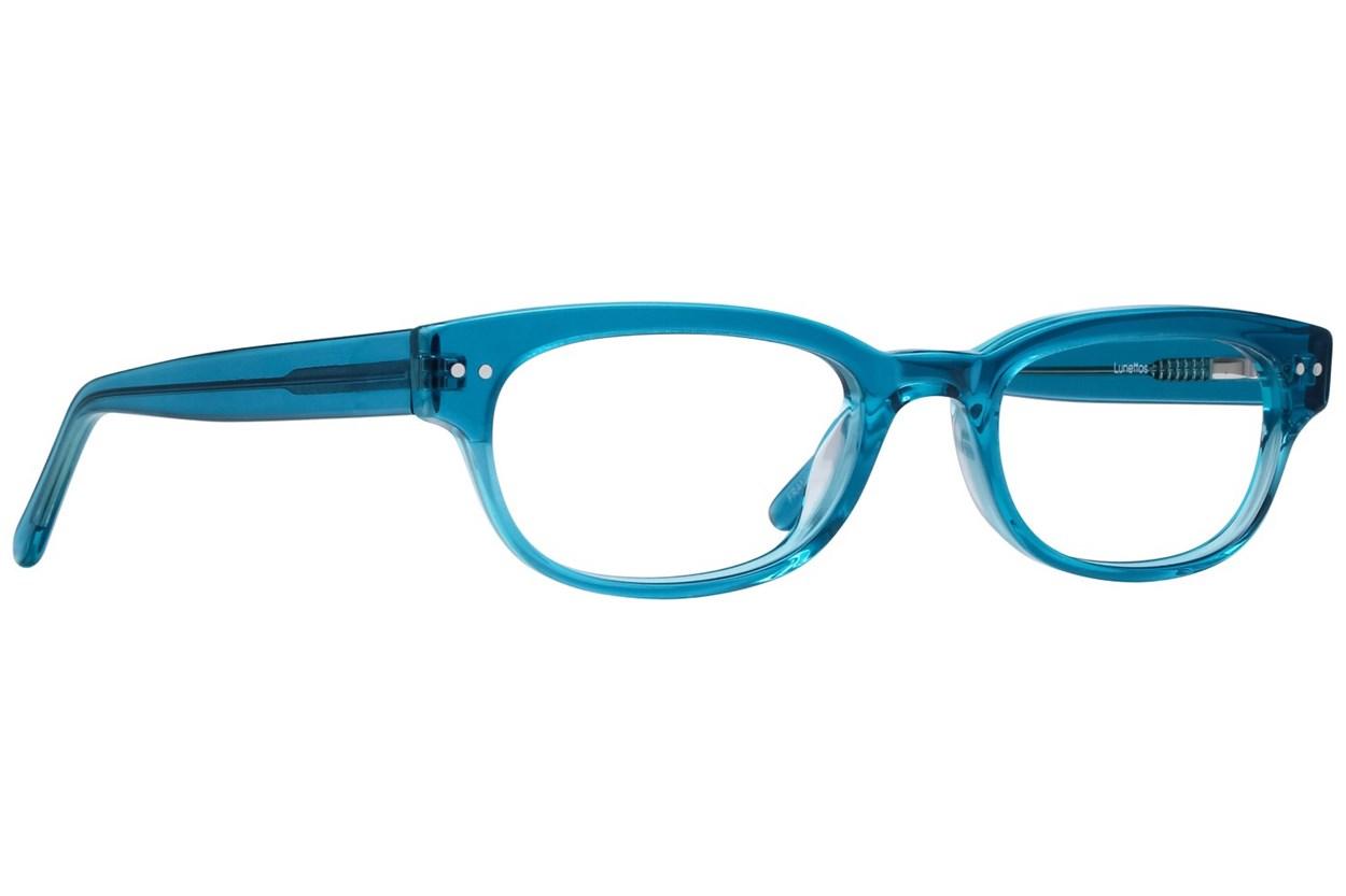 Lunettos Lynx Turquoise Glasses
