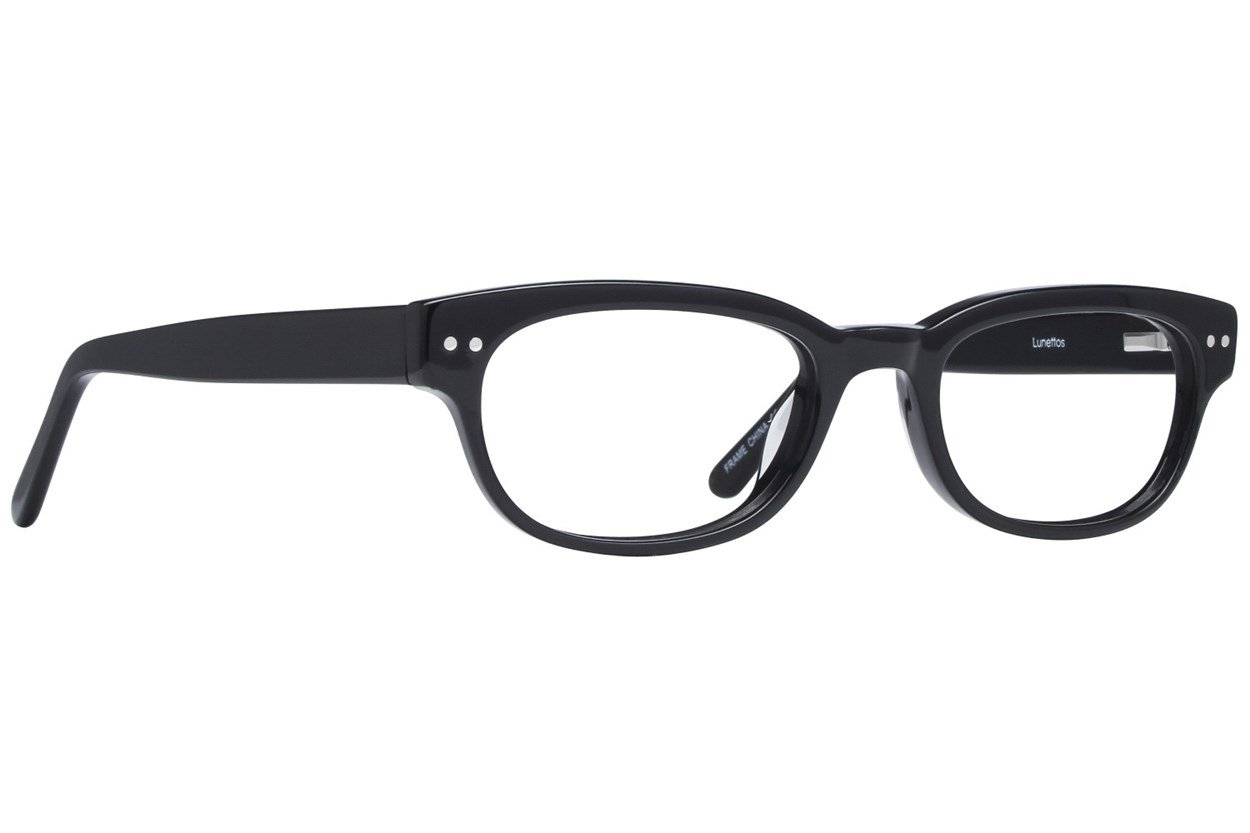 Lunettos Lynx Black Glasses