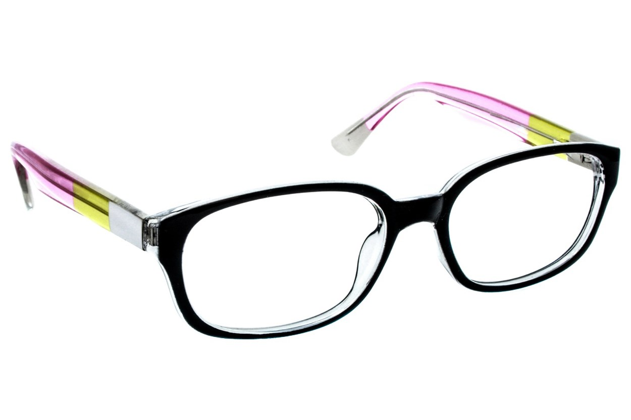 Lunettos Madison Eyeglasses - Black
