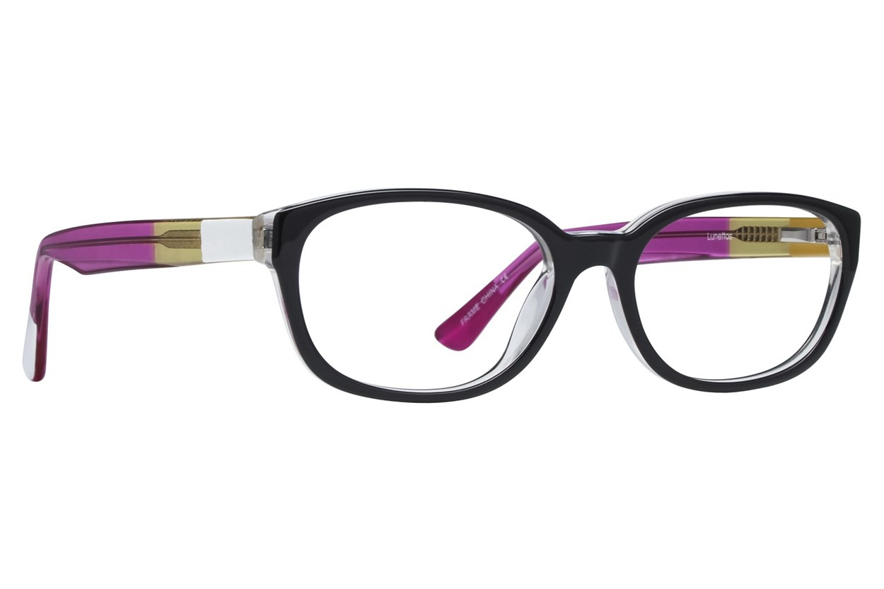 Lunettos Madison Black Glasses