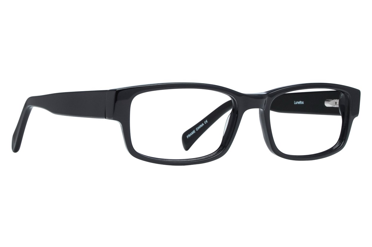 Lunettos Taylor Black Glasses